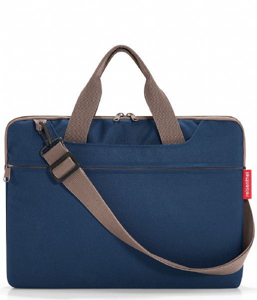 Reisenthel Laptop schoudertas Netbookbag 15.6 Inch dark blue (MA4059)