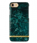 Richmond & Finch Marble Glossy Apple iPhone 7 Groen