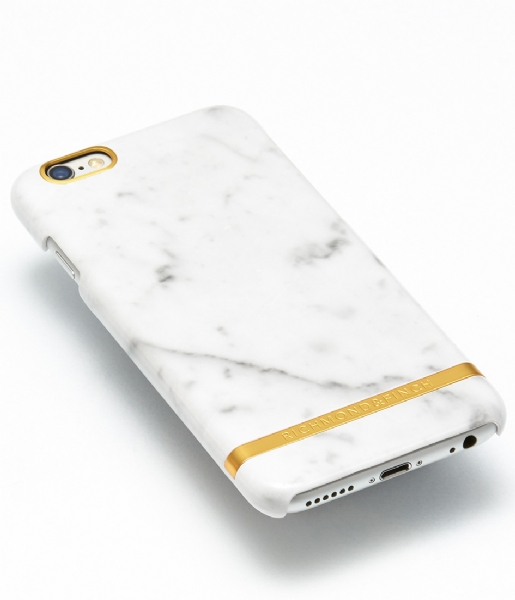 Richmond & Finch Smartphone cover iPhone 6 Plus Cover Marble Glossy white marble (0144)