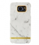 Richmond & Finch Marble Glossy Samsung Galaxy S6 Edge Wit