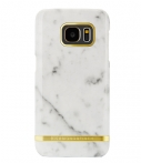 Richmond & Finch Marble Glossy Samsung Galaxy S7 Edge Wit