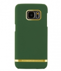 Richmond & Finch Smartphone covers Samsung Galaxy S7 Edge Cover Classic Satin Groen