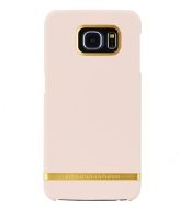Richmond & Finch Samsung Galaxy S6 Edge Cover Classic Satin soft pink (15)