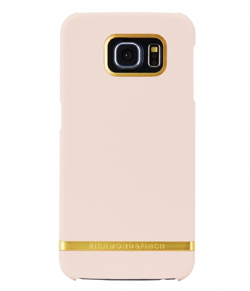 Richmond & Finch Smartphone cover Samsung Galaxy S6 Cover Classic Satin soft pink (15)