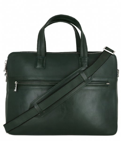 Royal RepubliQ Laptop schoudertas Analyst Day Bag 15 Inch Green (70011)