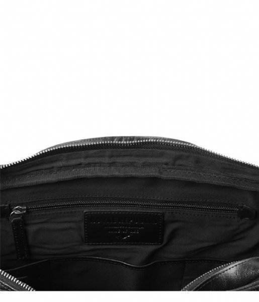 Royal RepubliQ Laptop schoudertas Explorer Laptop Bag Double 17 Inch black