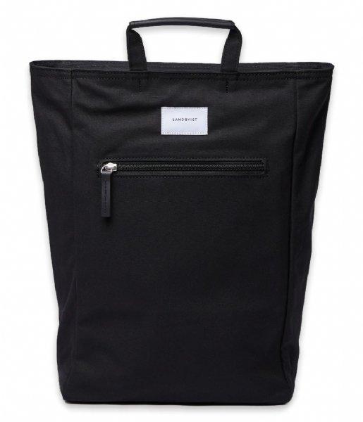 Sandqvist Laptop rugzak Backpack Tony 13 Inch black (725)