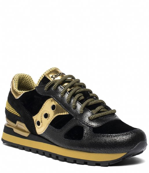 Saucony Sneakers Shadow 5000 Vintage Black Gold (2)