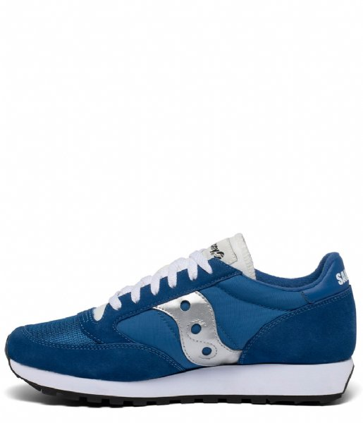 Saucony Sneakers Jazz Original Vintage Blue white silver (146)