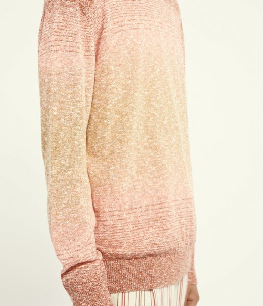 Scotch and Soda trui Recycled cotton blend crewneck pull in melange knit Combo A (0217)