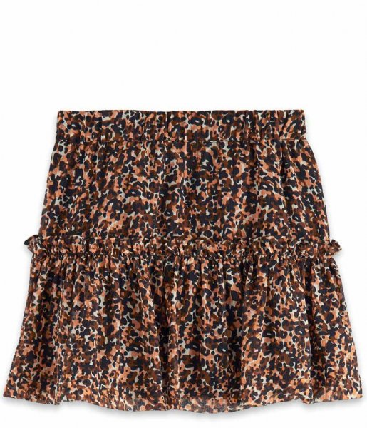 Scotch and Soda Rokje Girls All-over printed skirt Combo L (591)