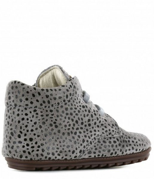 Shoesme Sneakers Baby Proof Grey dots