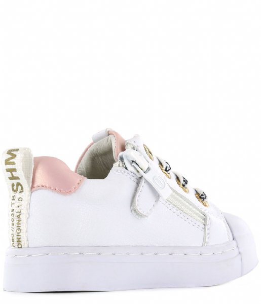Shoesme Sneakers Shoesme Trainer White cherry