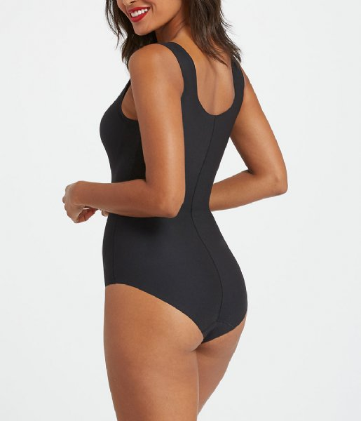 Spanx Nachtmode & Loungewear Thinstincts Bodysuit Very Black (99990)