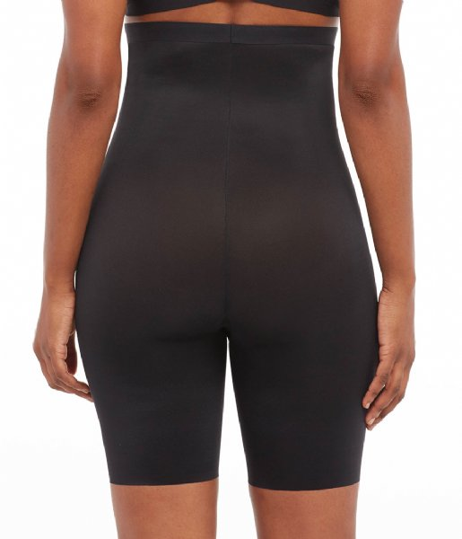 Spanx Nachtmode & Loungewear Thinstincts 2.0 High Waisted Mid Thigh Short Very Black (99990)