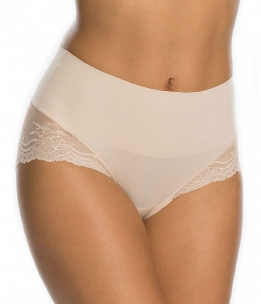 Spanx slip Undie-tectable Lace Hi-Hipster Soft Nude (2119)