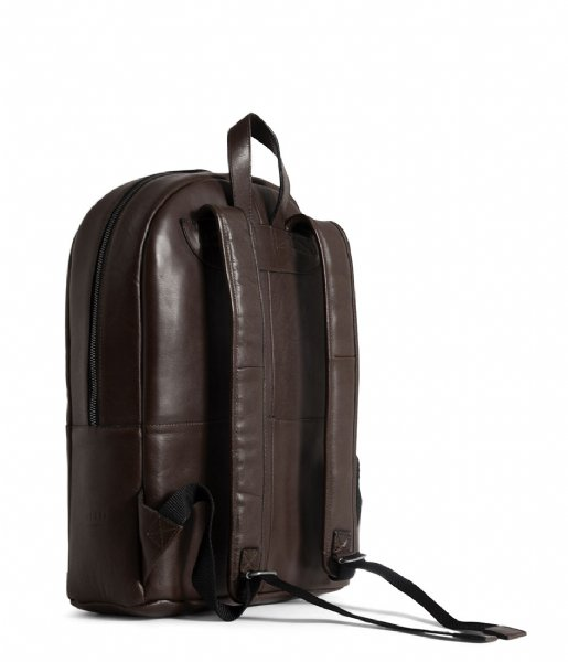Still Nordic Laptop rugzak Clean Backpack 1 Room 15 Inch brown