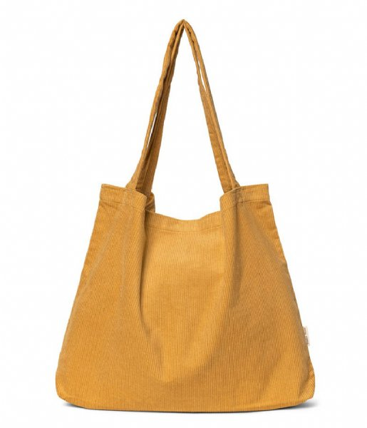 Studio Noos Shopper Rib Mom Bag Mustard