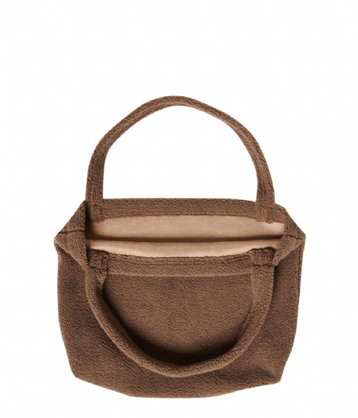 Studio Noos Shopper Brown Chunky Teddy Mom Bag brown chunky teddy