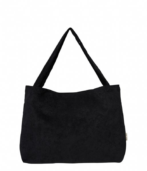 Studio Noos Shopper Rib Mom Bag all black