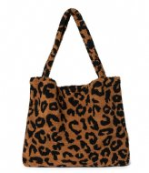 Studio Noos Teddy Leopard Mom Bag Brown