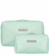 SUITSUIT Fabulous Fifties Duo Set Toiletry Bag + Make-up Bag luminous mint (26923)