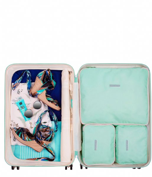 SUITSUIT Packing Cube Fifties Packing Cube Set 24 Inch luminous mint (26916)