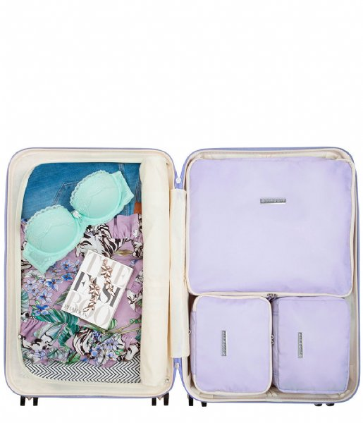 SUITSUIT Packing Cube Fifties Packing Cube Set 24 Inch paisley purple (27116)