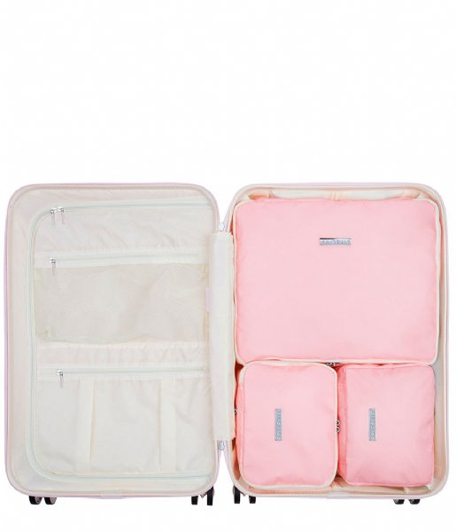 SUITSUIT Packing Cube Fifties Packing Cube Set 24 Inch pink dust (26816)