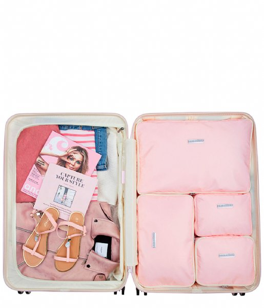SUITSUIT Packing Cube Fifties Packing Cube Set 28 Inch pink dust (26817)