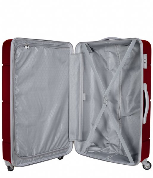 SUITSUIT Reiskoffer Caretta Suitcase 28 inch Spinner red cherry (12638)