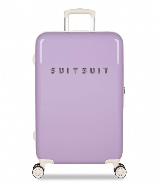 SUITSUIT Reiskoffer Suitcase Fabulous Fifties 24 inch Spinner royal lavender (12034)