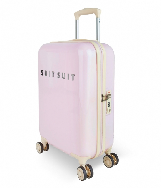 SUITSUIT Reiskoffer Suitcase Fabulous Fifties 20 inch Spinner pink dust (12215)