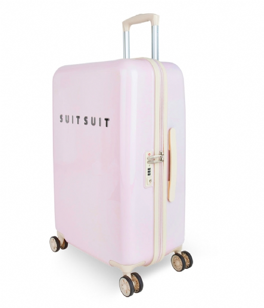 SUITSUIT Reiskoffer Suitcase Fabulous Fifties 24 inch Spinner pink dust (12214)