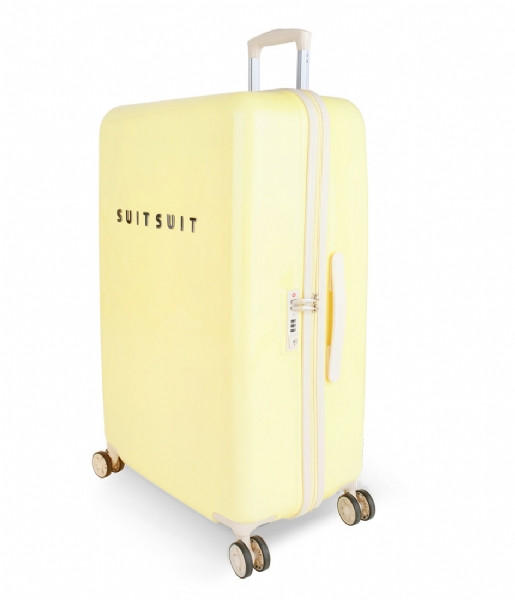 SUITSUIT Reiskoffer Suitcase Fabulous Fifties 28 inch Spinner mango cream (12208)
