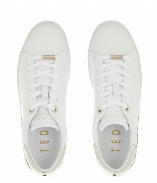 Ted Baker Sneakers Tiriey Deco Printed Sole Trainer White