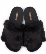 The White Brand Black Fur black