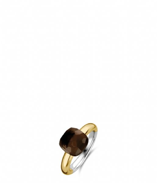 TI SENTO - Milano Ring 925 Sterling Zilver Ring 12187 Brown (12187TB)