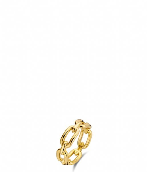 TI SENTO - Milano Ring 925 Sterling Zilver Ring 12205 Silver yellow gold plated (12205SY)