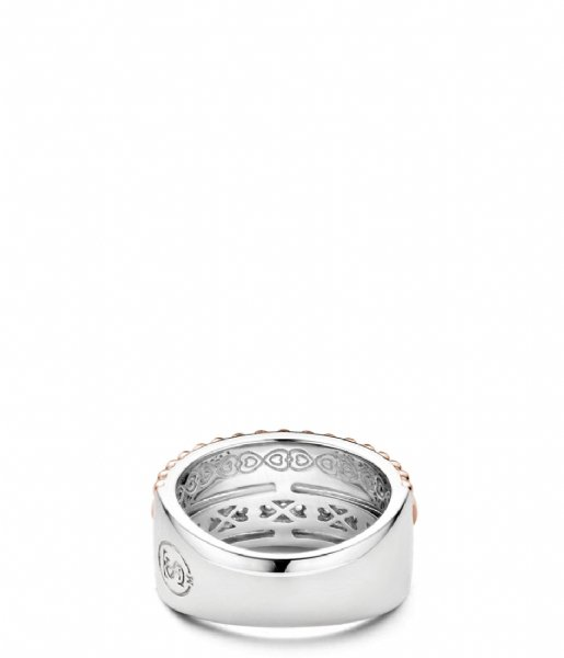 TI SENTO - Milano Ring 925 Sterling silver Ring 12038MR parelmoer rosé verguld (12038MR)