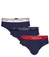 Tommy Hilfiger 3P Brief Multi peacoat (904)