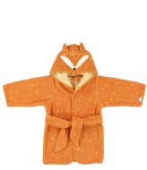 Trixie Bathrobe , 1-2 yr - Mr. Fox Orange