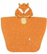 Trixie Poncho - Mr Fox Orange