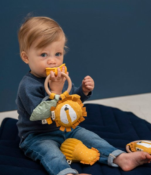 Trixie Baby Accessoire Activity Ring - Mr. Lion Multi