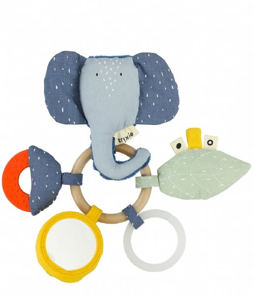 Trixie Baby Accessoire Activity Ring - Mrs. Elephant Multi