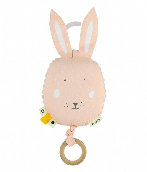 Trixie Baby Accessoire Music toy - Mrs. Rabbit Pink