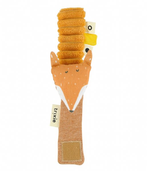 Trixie Baby Accessoire Wrist rattle - Mr. Fox Orange