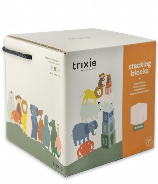 Trixie Baby Accessoire Stacking blocks Stacking