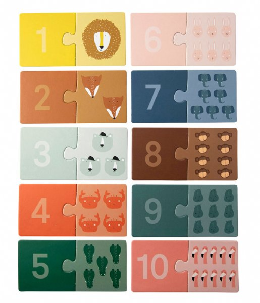 Trixie Baby Accessoire Counting puzzle Counting