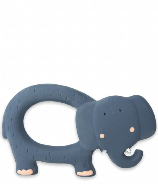 Trixie Baby Accessoire Natural rubber grasping toy Mrs. Elephant Mrs. Elephant